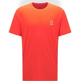 Haglöfs L.I.M Tech Camiseta Hombre, habanero
